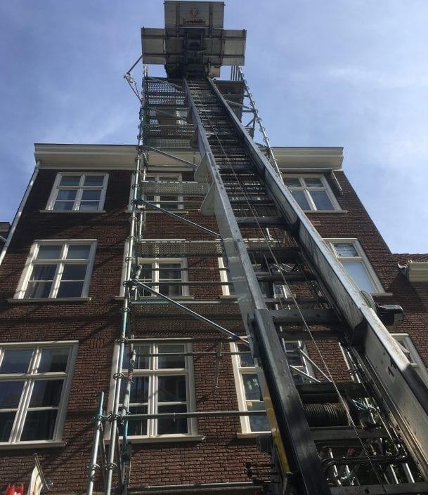 Möbelaufzug / Umzugslift in Kempen für Solaranlagen