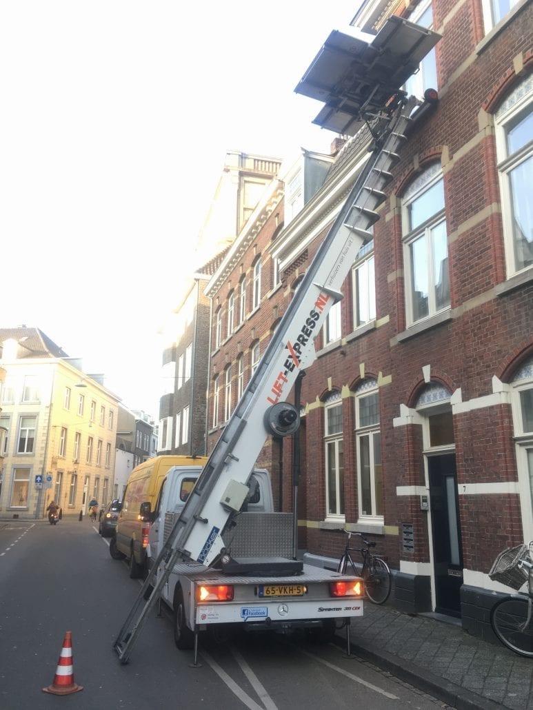 Verhuislift Maastricht Hondstraat