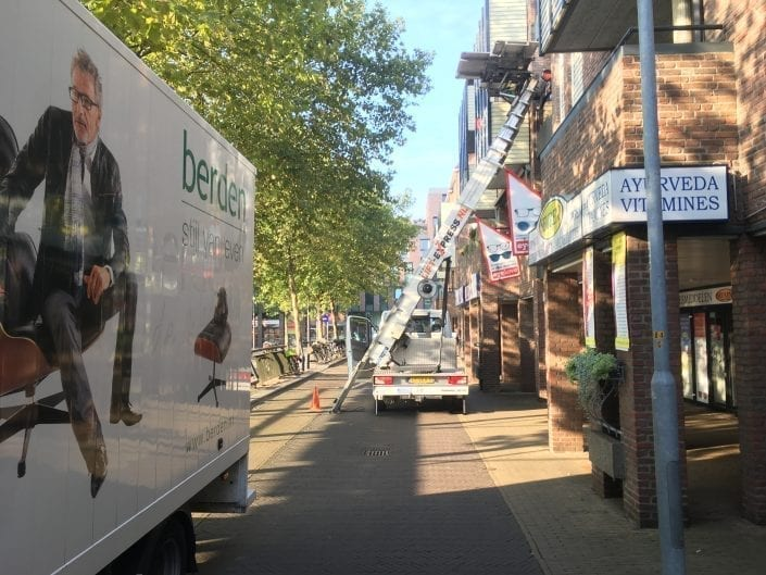 Verhuislift Venlo Monseigneur Nolensplein